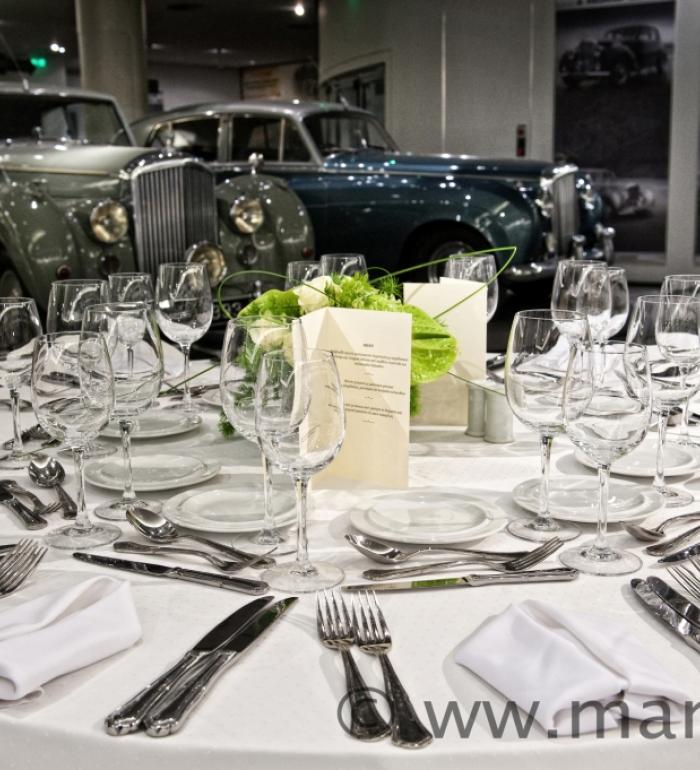Society of Nephrology presentation and dinner at Hellenic Motor Museum